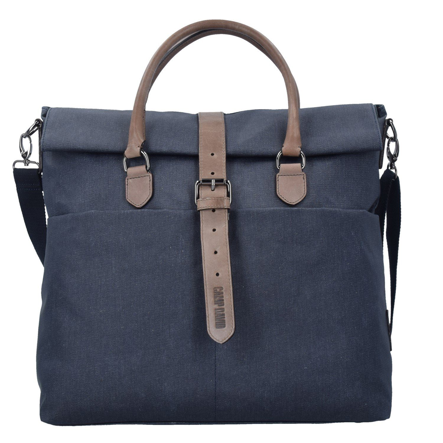 CAMP DAVID Newark Shopper Tasche 40 cm Laptopfach