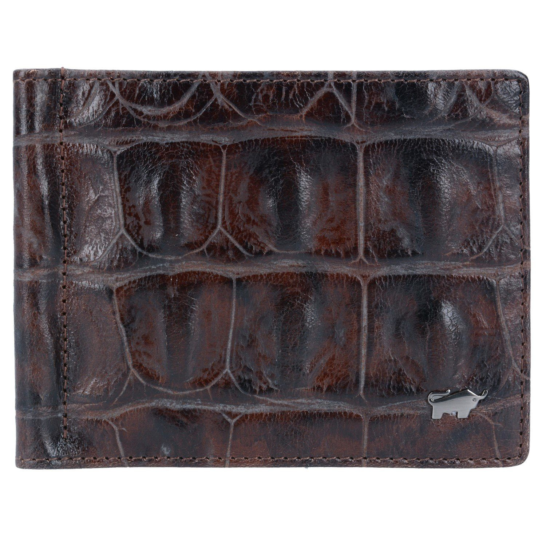 Braun Büffel Melbourne Dollarclipbörse Leder 12 cm