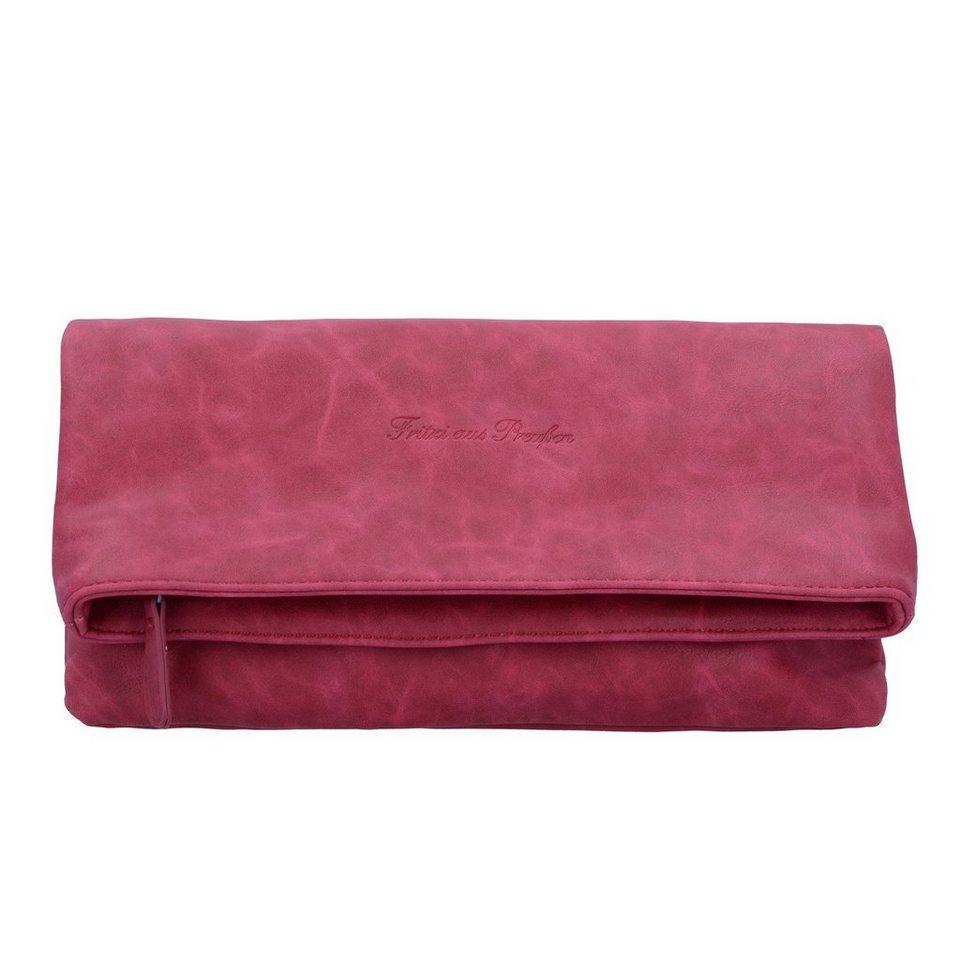 fritzi aus preu en ronja clas nubuk clutch tasche 29 cm. Black Bedroom Furniture Sets. Home Design Ideas