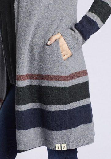 khujo Longstrickjacke GOLIA, mit seitlichen Eingrifftaschen