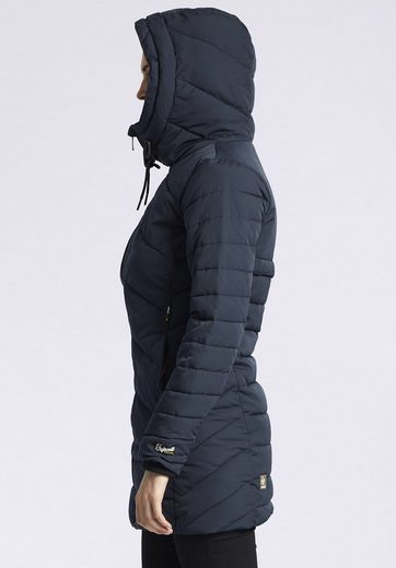 Khujo Quilted Coat Janis, With Removable Insert Stehkragen