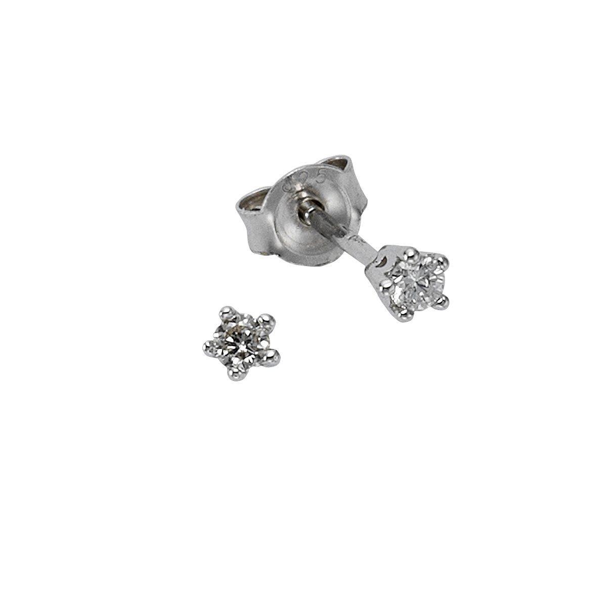 CELESTA Ohrstecker »925/- Sterling Silber Diamant«