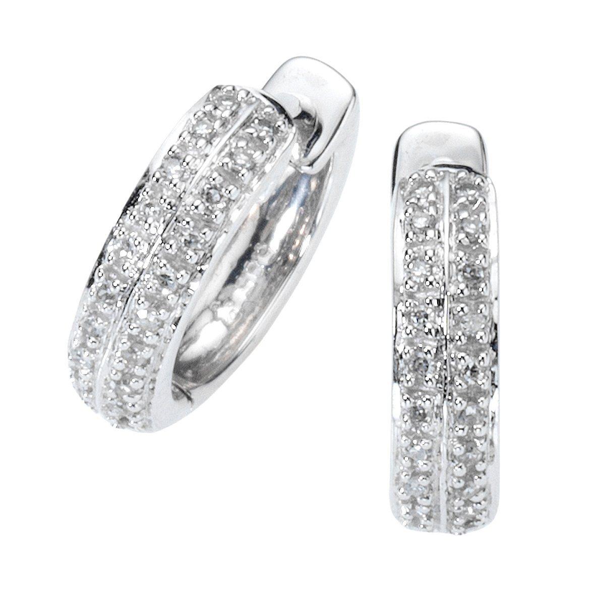 Diamonds by Ellen K. Creolen »585/- Weißgold Diamant 0,10ct.«