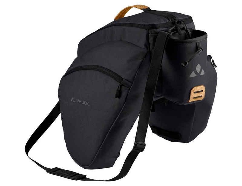 VAUDE Gepäckträgertasche »eSilkroad Plus«, Grüner Knopf