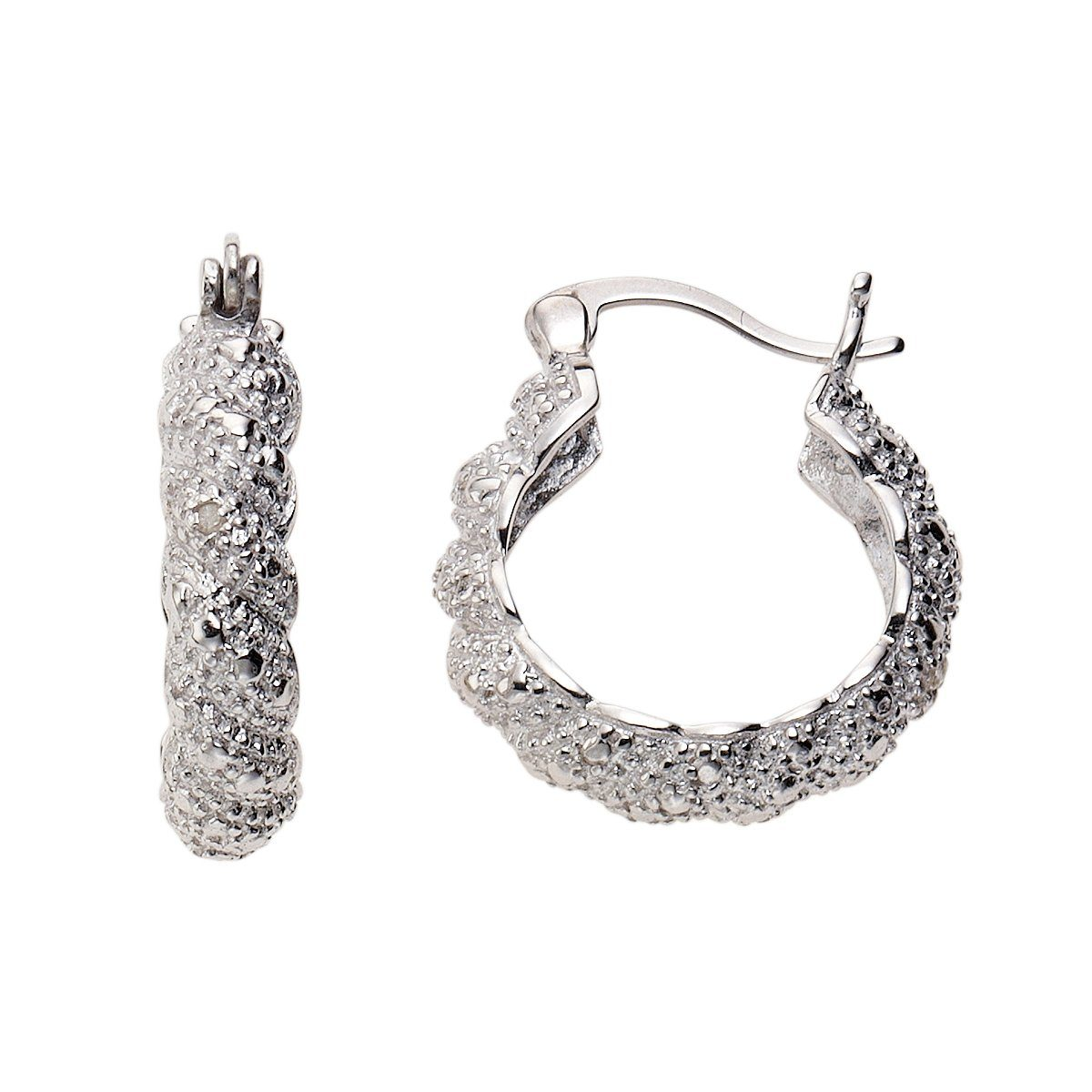 Diamonds by Ellen K. Creolen »925/- Sterling Silber Diamant 0,011ct.«