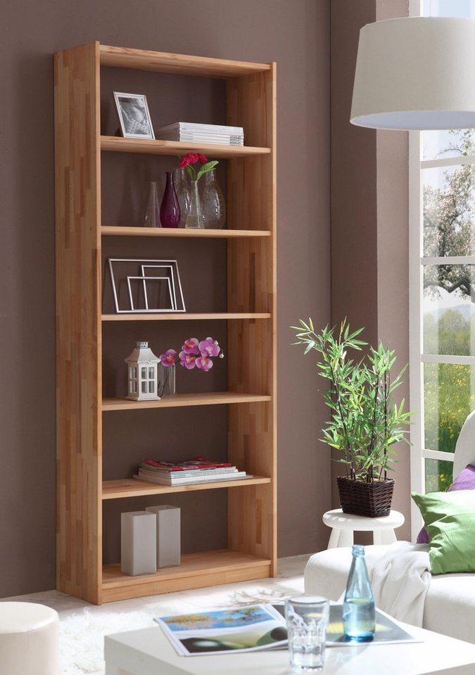 Ticaa Standregal in 3 Höhen von 111 - 214 cm, Buche | Kinderzimmer > Kinderzimmerregale | Buche | Ticaa