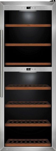 Caso Weinkühlschrank Caso WineComfort 126, für 126 Standardflaschen á 0,75l | Küche und Esszimmer > Küchenelektrogeräte > Kühlschränke | Caso