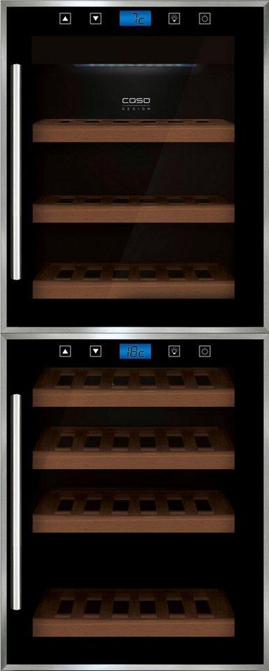 caso design weink hlschrank caso winecomfort touch 38 2d. Black Bedroom Furniture Sets. Home Design Ideas