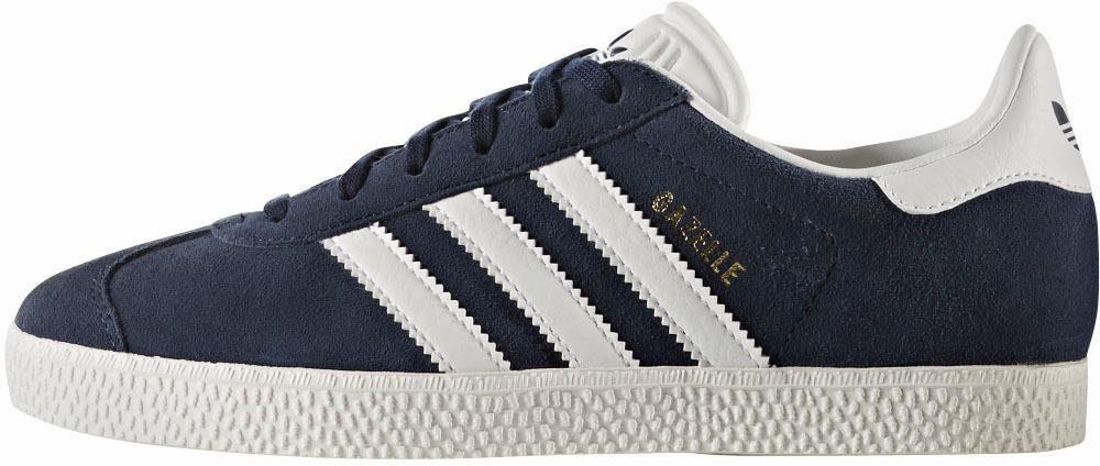 adidas Originals Gazelle Junior Unisex Sneaker  navy-weiß