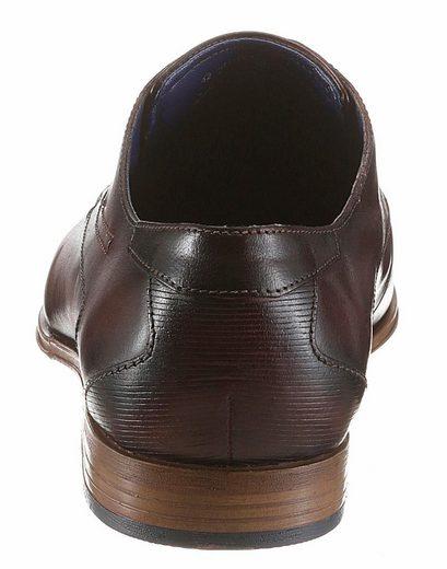 Bugatti Schnürschuh, mit fein perforierter Querkappe