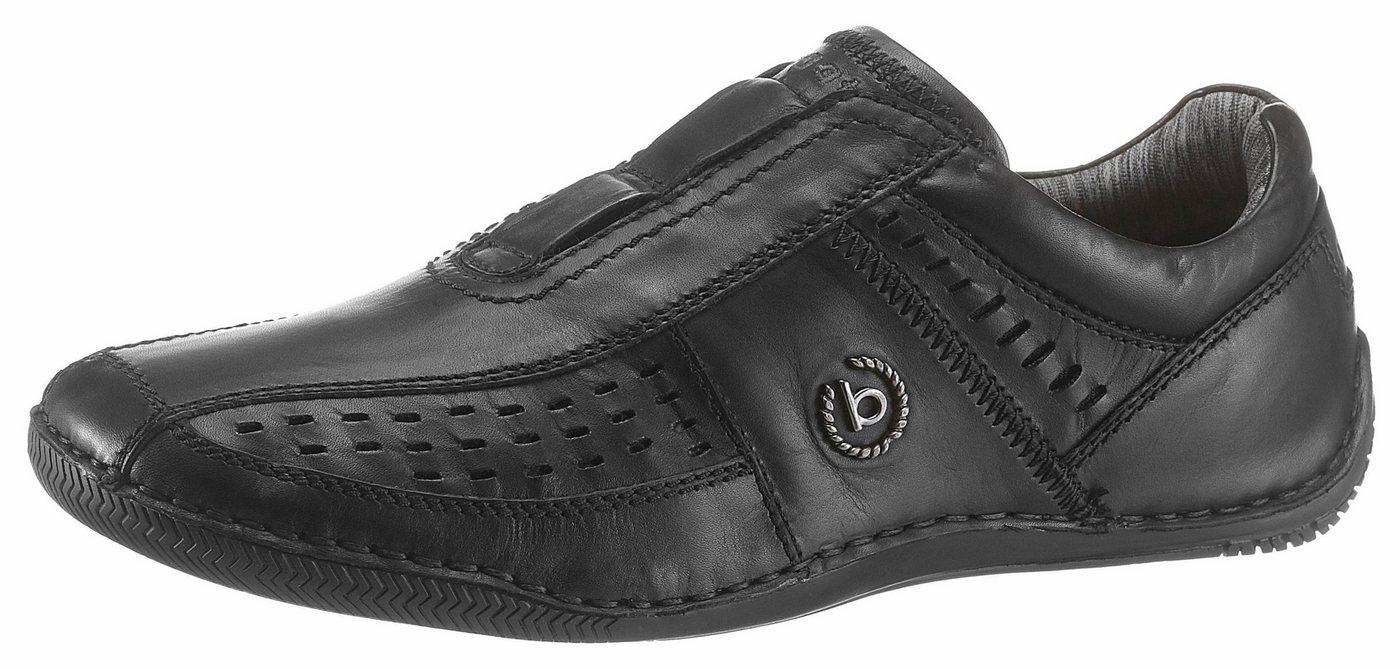 Herren Bugatti Slipper mit praktischer Soft Flex-Funktion schwarz | 07613146068099