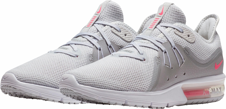 Nike Wmns Sequent 3 Laufschuh online kaufen  hellgrau-pink