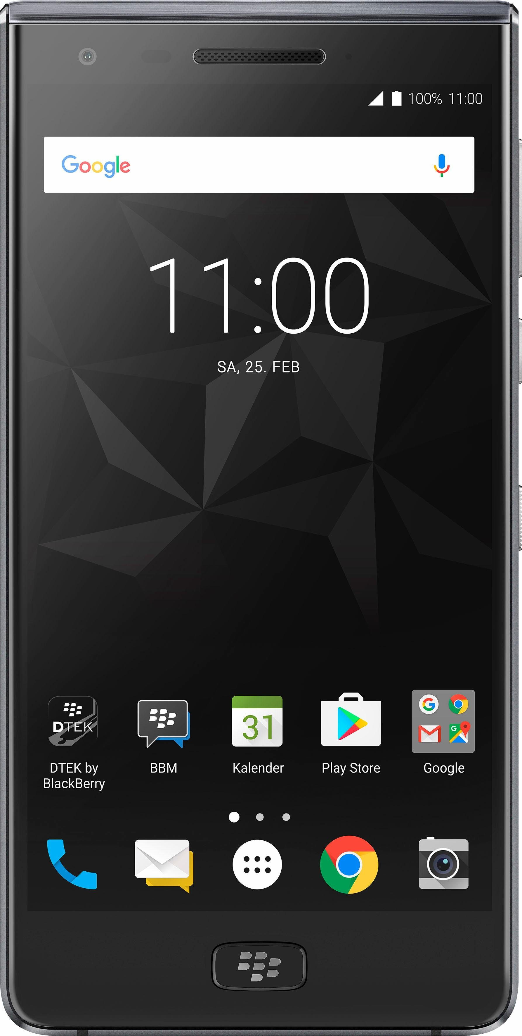 Blackberry Motion Smartphone (14 cm/5,5 Zoll, 32 GB Speicherplatz, 12 MP Kamera)
