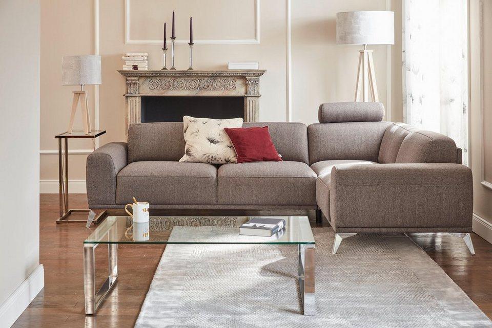 gmk home living polsterhocker tea mit metallf en online kaufen otto. Black Bedroom Furniture Sets. Home Design Ideas