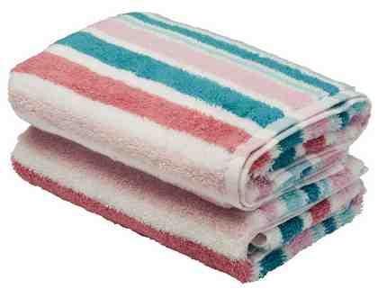 Handtücher, GMK Home & Living, »Serie Garden stripes«, mit buntem Streifenmix (2 Stück)