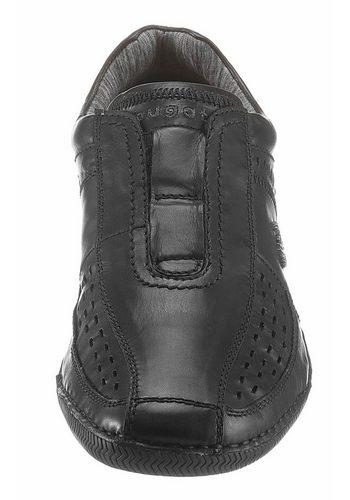- Herren Bugatti Slipper mit praktischer Soft Flex-Funktion schwarz | 07613146068099