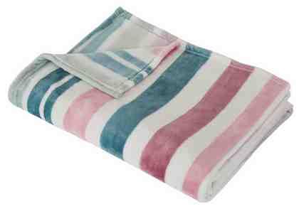 Wohndecke »Garden stripes«, Guido Maria Kretschmer Home&Living, mit frischen Farben und Streifen