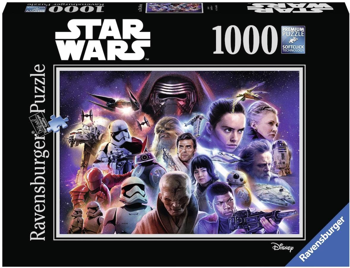 Ravensburger Puzzle, 1000 Teile, »Disney Star Wars Collection 4«