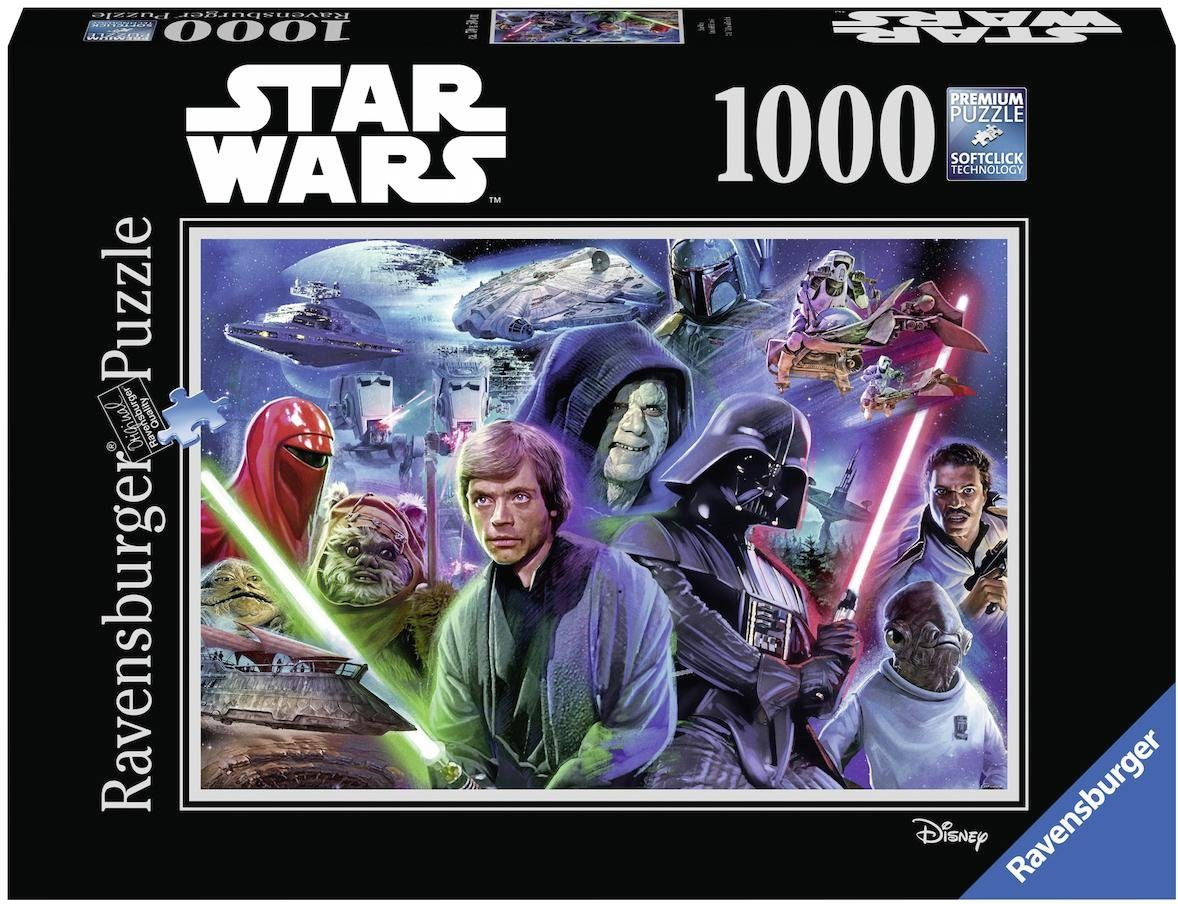Ravensburger Puzzle, 1000 Teile, »Disney Star Wars Collection 3«