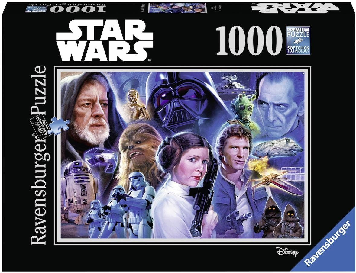 Ravensburger Puzzle, 1000 Teile, »Disney Star Wars Collection 1«