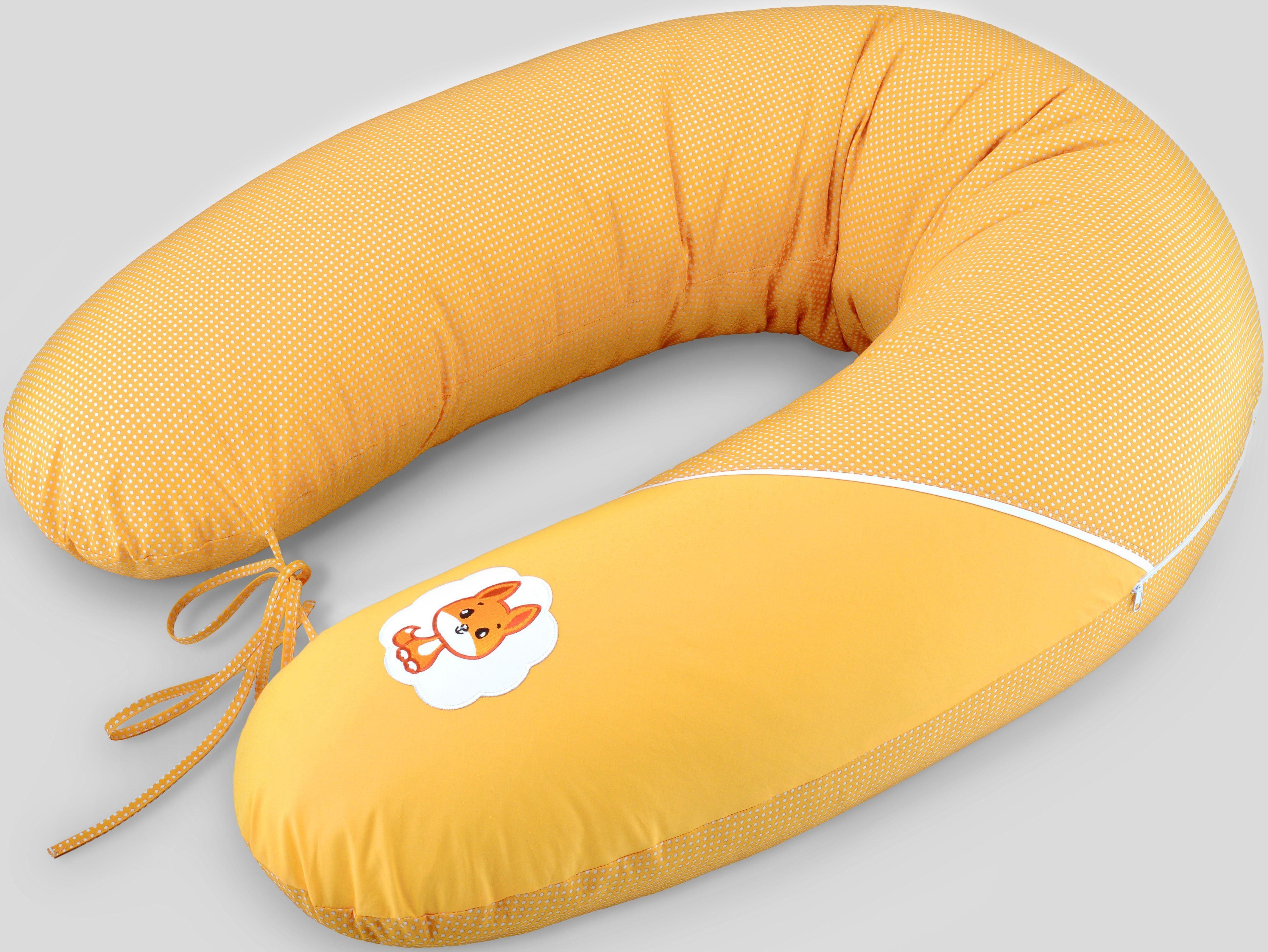 Stillkissen, »Fuchs orange«, SEI DESIGN