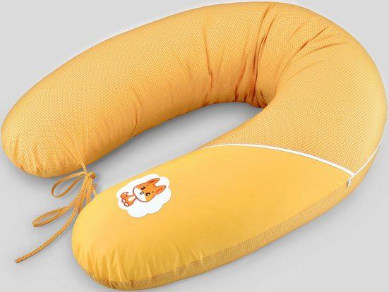 SEI Design Stillkissen »Fuchs orange«, mit hochwertiger Stickerei mit niedlichen Tiermotiven