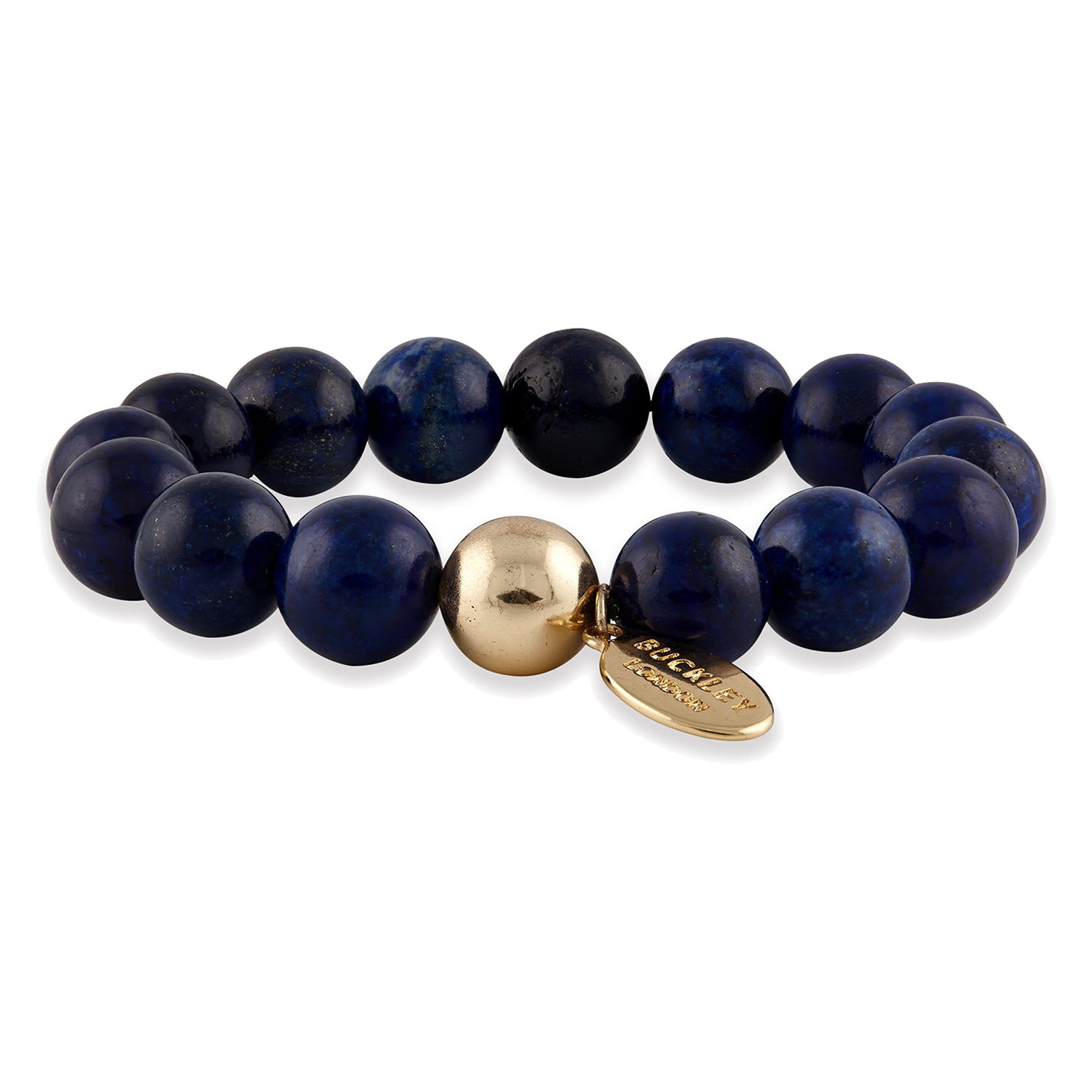 Buckley London Armschmuck »vergoldet mit Lapis«