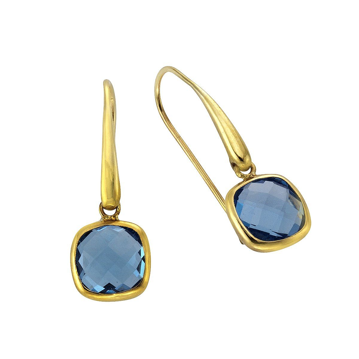 Fascination by Ellen K. Ohrhaken »375/- Gelbgold Blautopas«