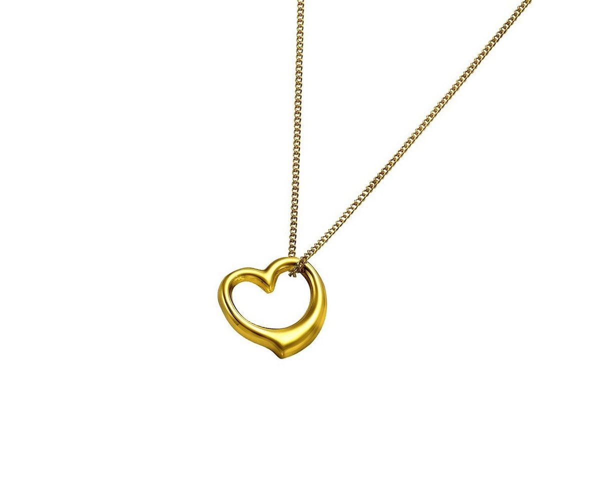 Zeeme Anhänger mit Kette »333/- Gelbgold Herz« | Schmuck > Halsketten > Herzketten | Gelb | Zeeme