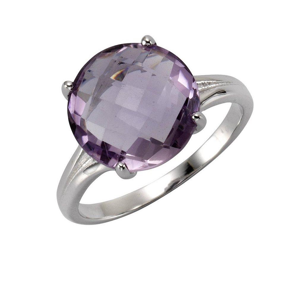 zeeme ring 925 sterling silber rhodiniert amethyst online kaufen otto. Black Bedroom Furniture Sets. Home Design Ideas