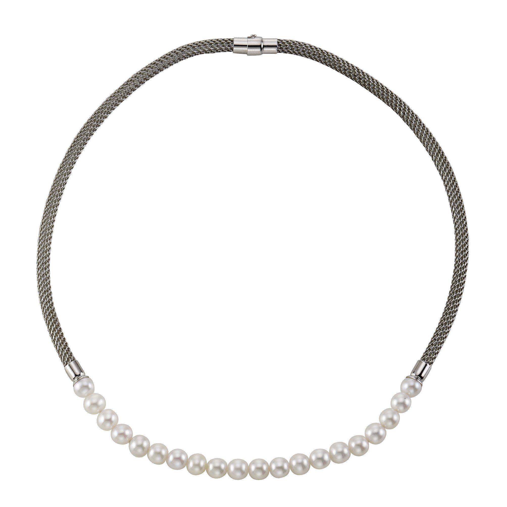 CELESTA Collier »925/- Sterling Silber Süßwasserzuchtperle«