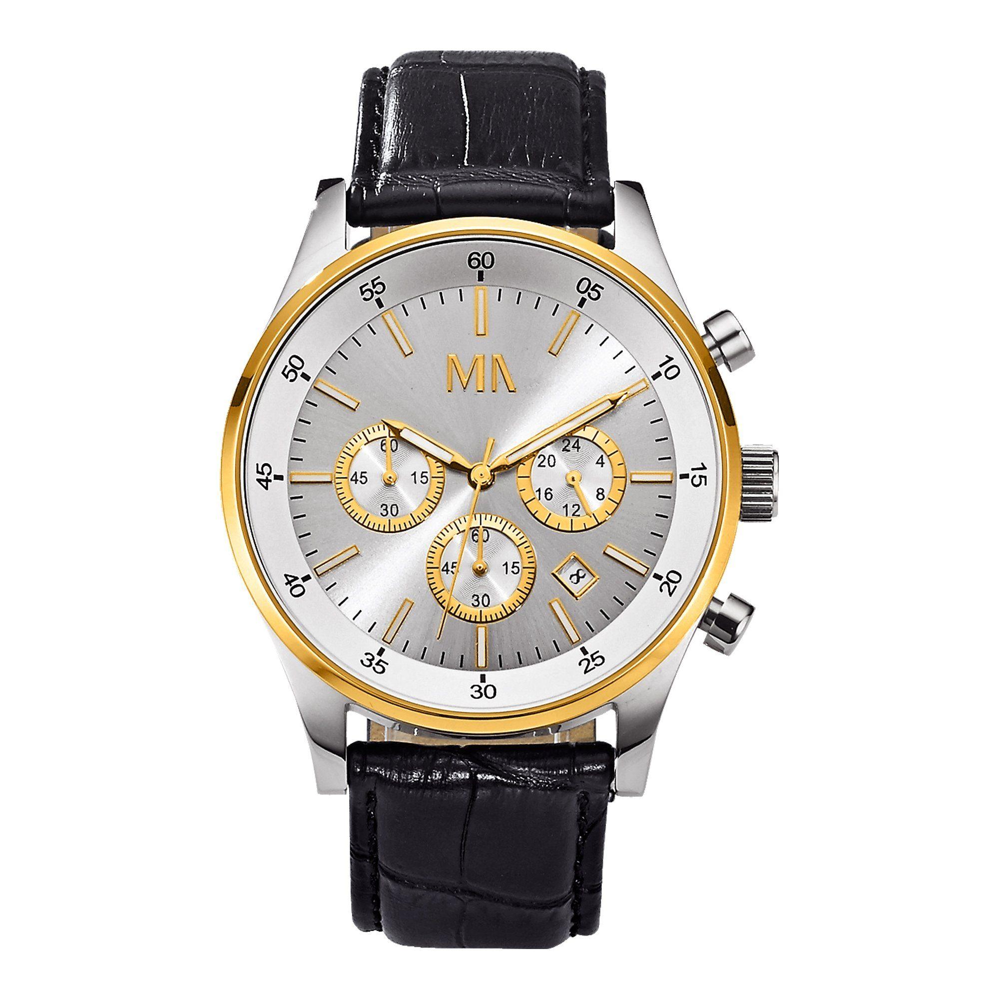 Meister Anker Chronograph »Metall vergoldet«