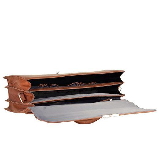 Bugatti Sartoria Aktentasche Leder 42 cm