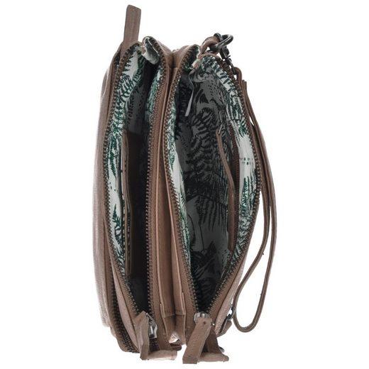 Spikes & Sparrow Idaho Clutch Tasche Leder 23 cm