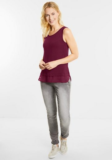 Street One Chiffon Layering Top