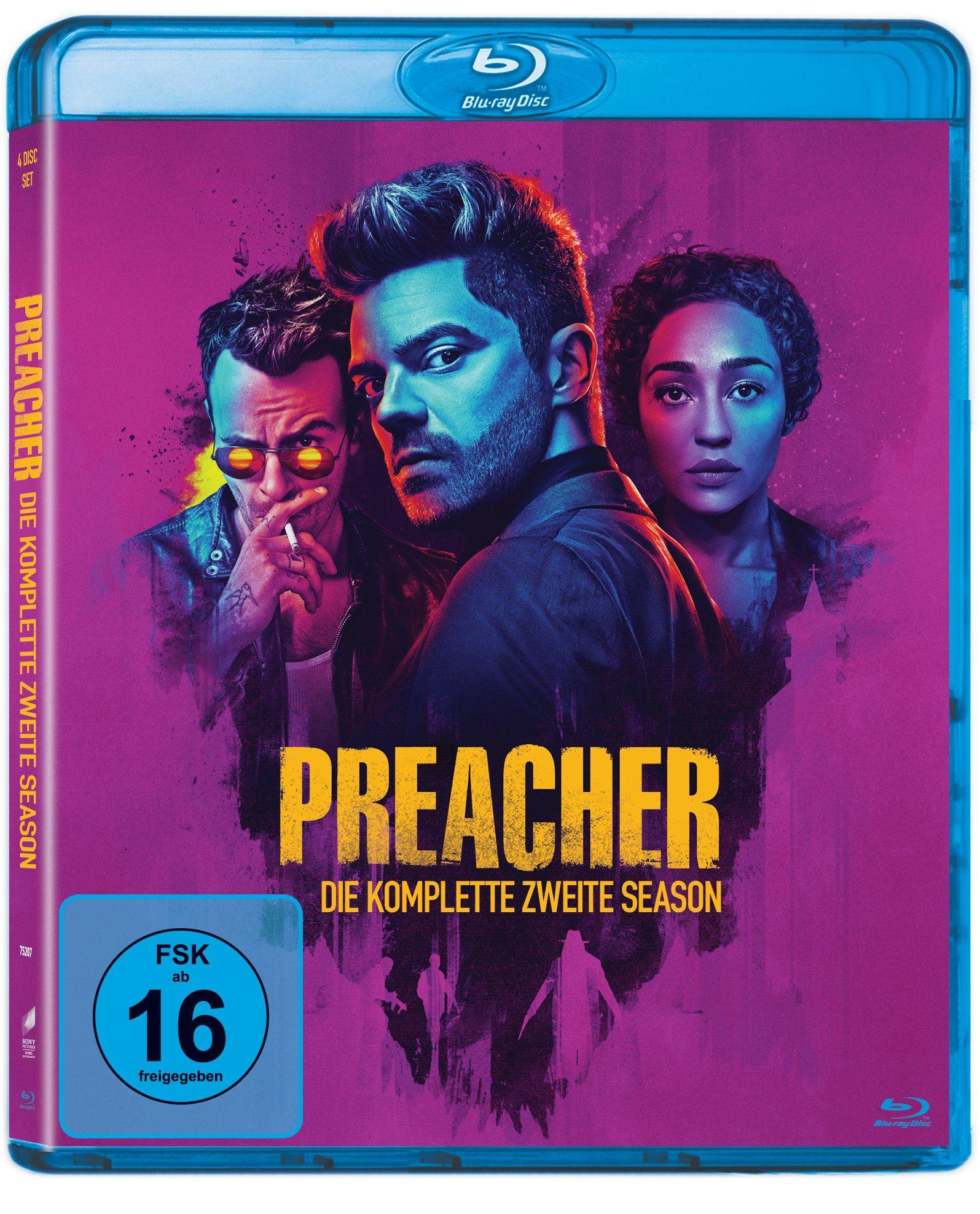 Sony Pictures Blu-ray »Preacher - Die komplette zweite Season«