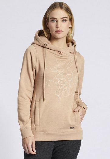 Khujo Sweatshirt Greta With Print, With Haptic Print On The Front