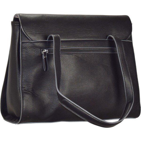 Damen tamaris Tiana Business Schultertasche 34 cm schwarz   04011214132230