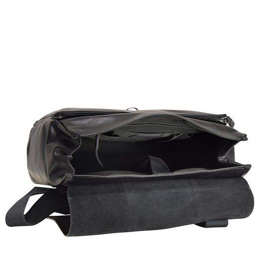 Rucksack Laptopfach Scott 40 Cm Leder Strellson 65FwqZz