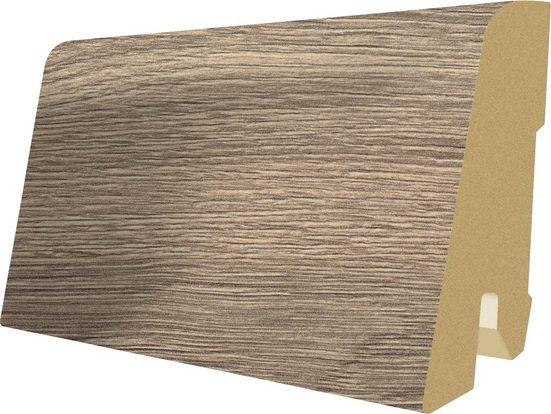EGGER Sockelleiste »L380 - Vinstra Eiche grau«, L: 240 cm, H: 6 cm