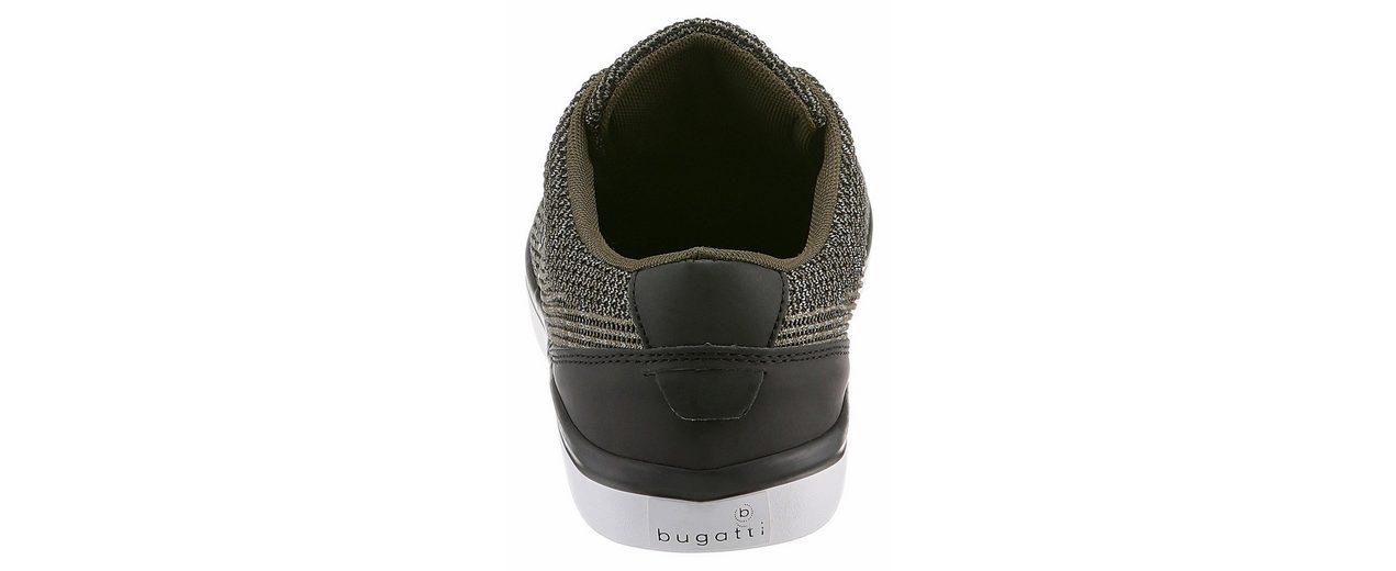 Bugatti Sneaker, im angesagten Knitwear-Look