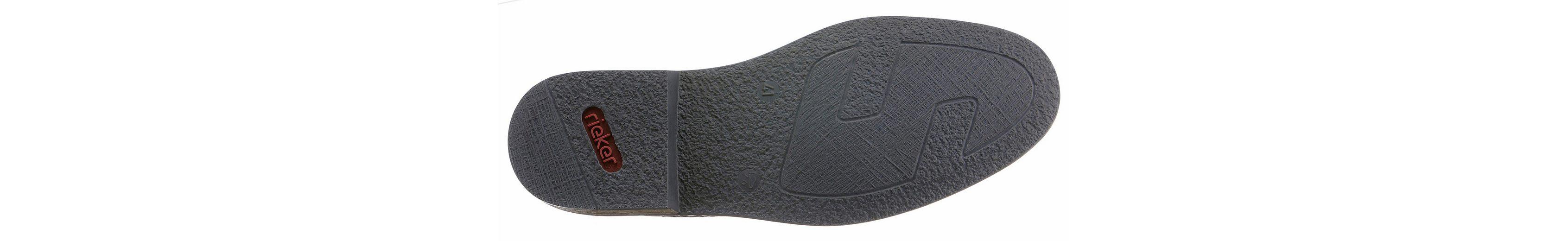 Rieker Slipper, mit modischer Perforierung