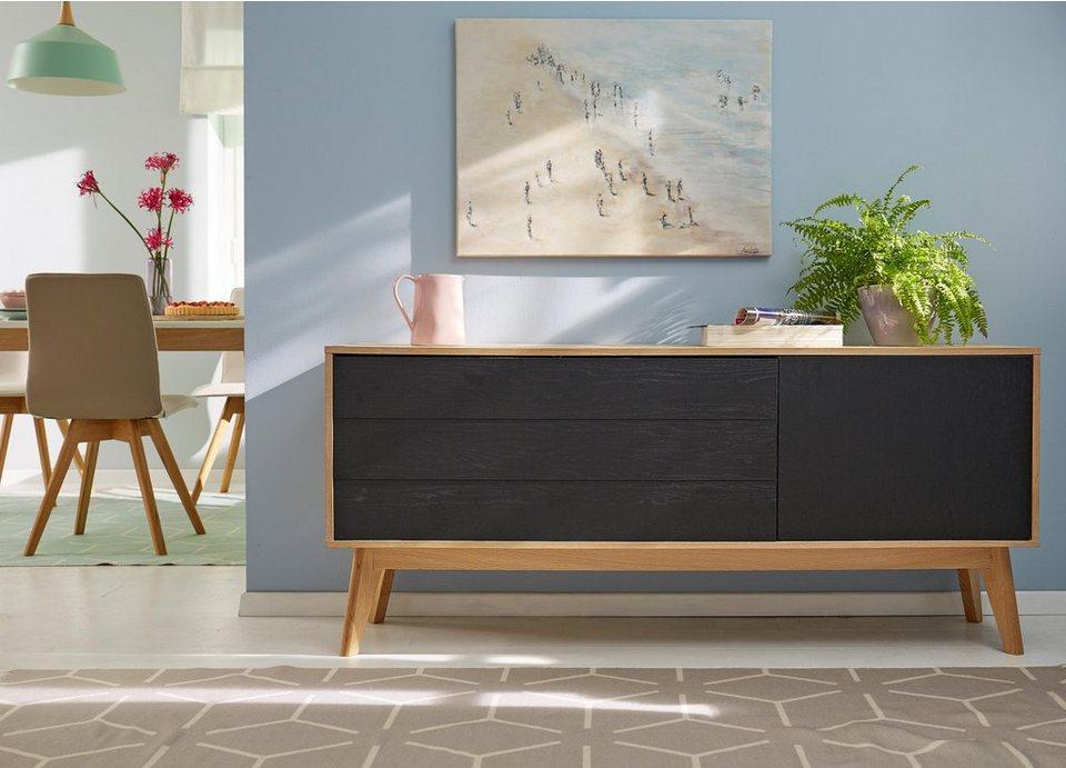 Skandinavisches Sideboard gmk home living sideboard calluna im trendigen skandinavischen