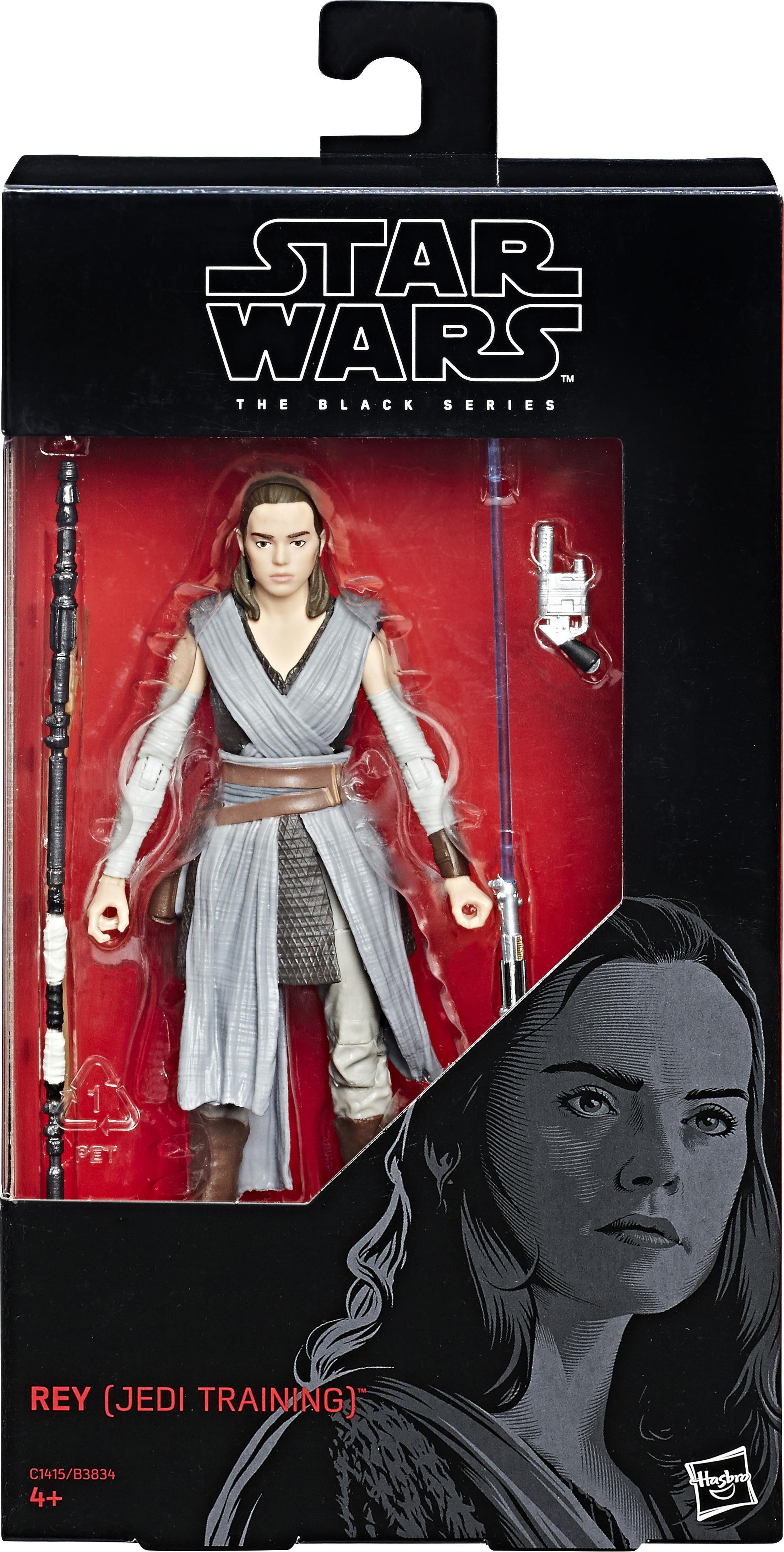 Hasbro Spielfigur, »Star Wars, The Black Series, Rey«