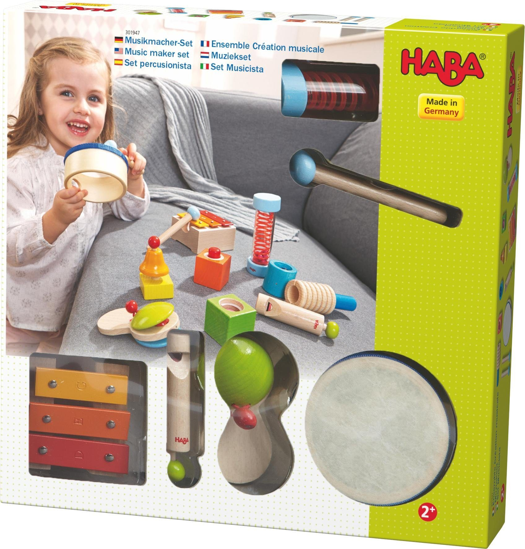 HABA® Kinderinstrument, »Musikmacher-Set«