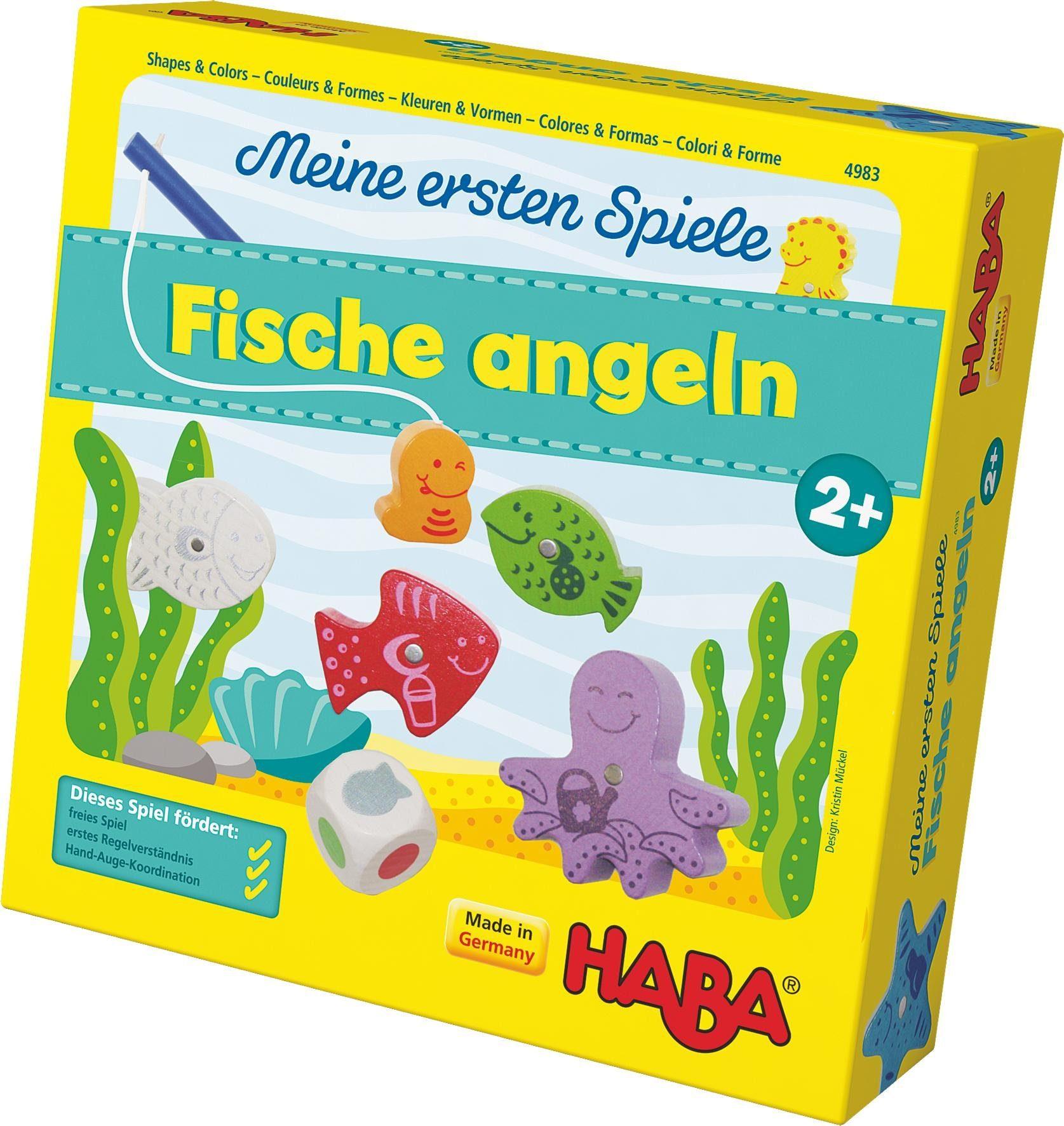 HABA® Kinderspiel, »Meine ersten Spiele - Fische angeln«