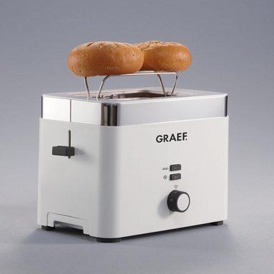 Graef Toaster TO 61, für 2 Scheiben, 888 W