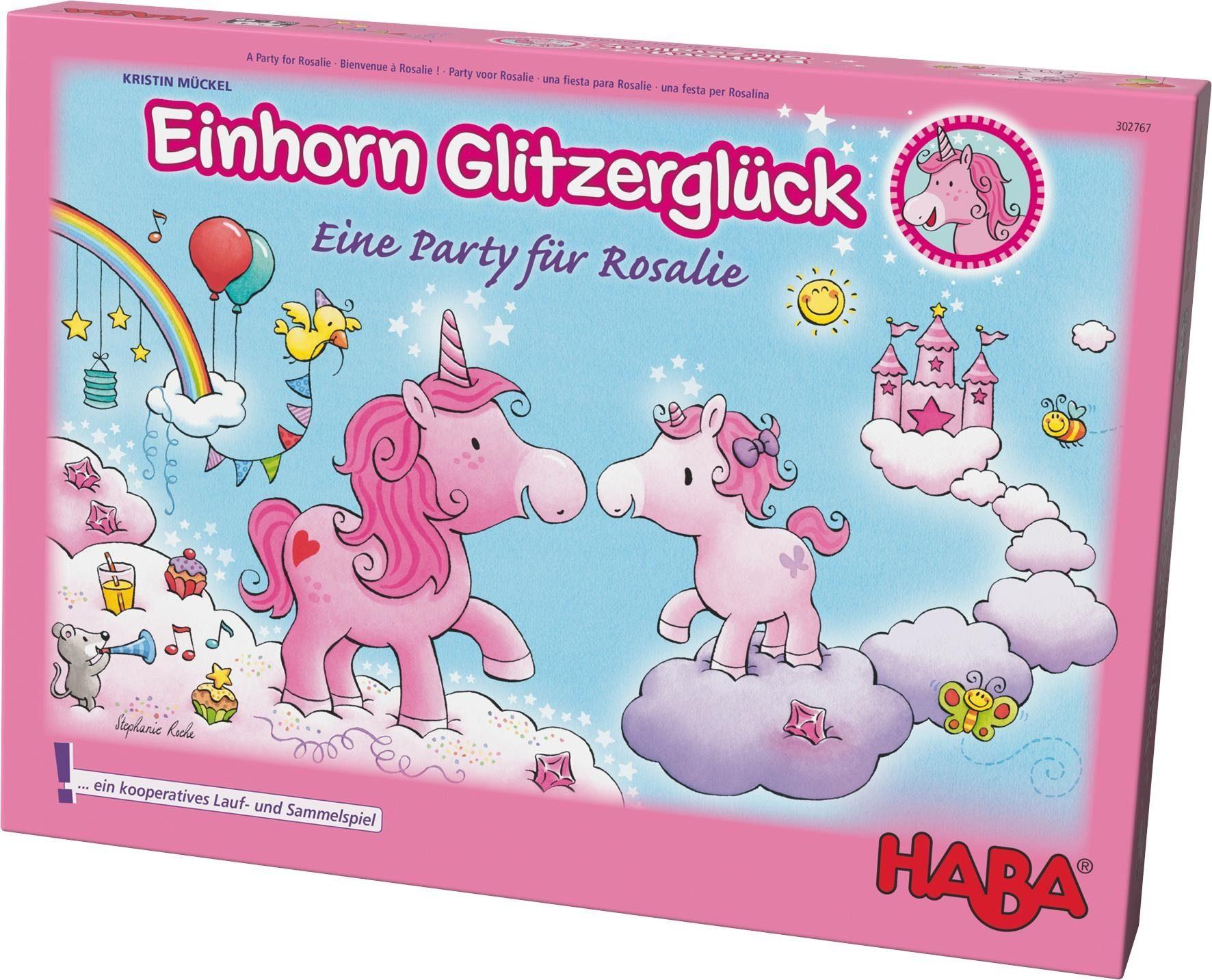 HABA® Kinderspiel, »Einhorn Glitzerglück - Eine Party für Rosalie«