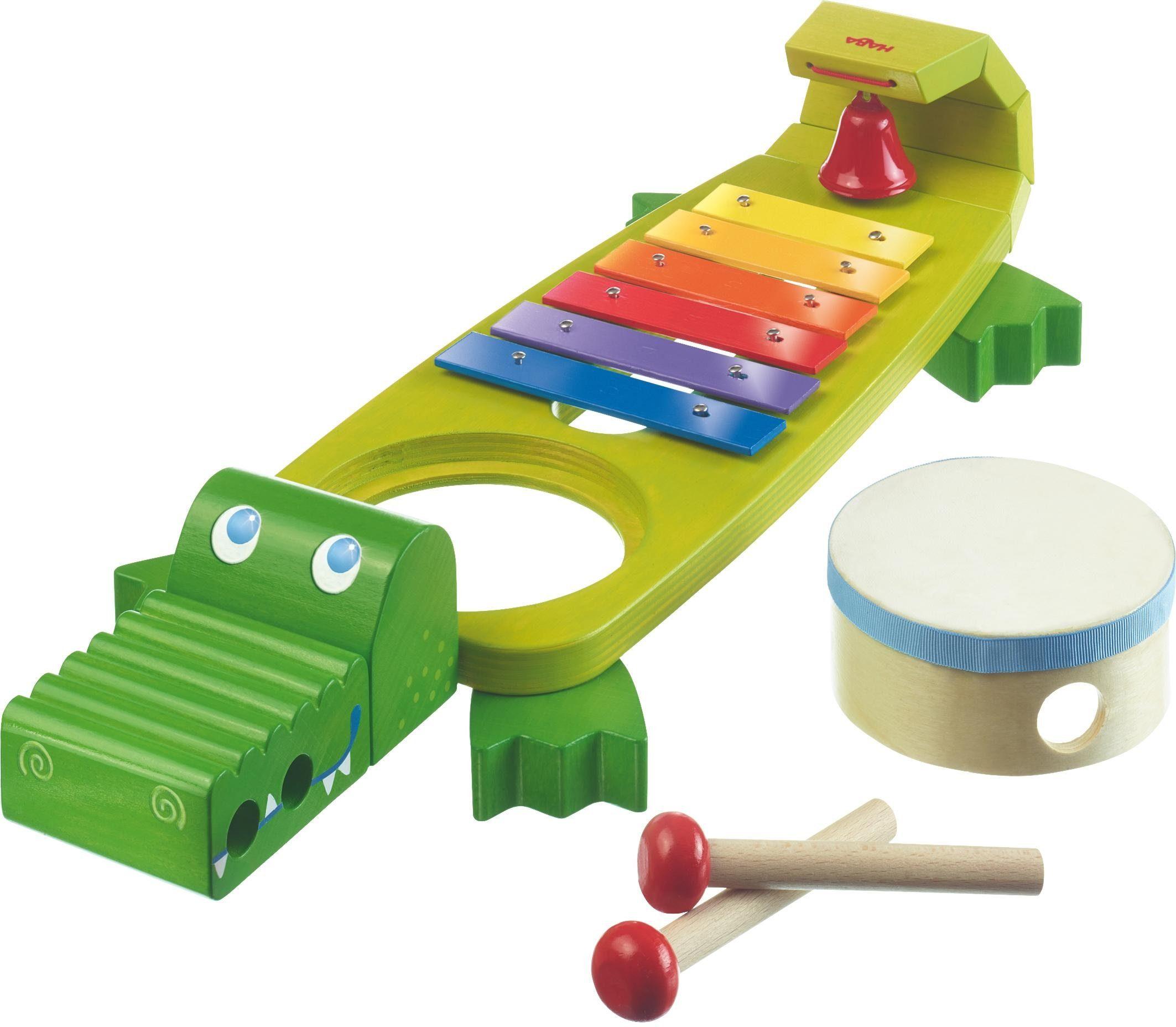HABA® Kinderinstrument, »Klang-Kroko«