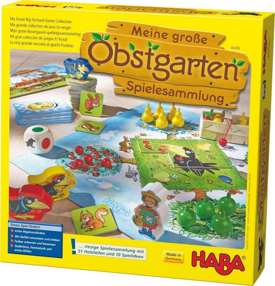 HABA® Kinderspiel,  Meine große Obstgarten-Spielesammlung  online kaufen